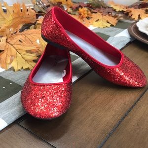 Halloween Ruby Red Slippers Dorothy Wizard of Oz
